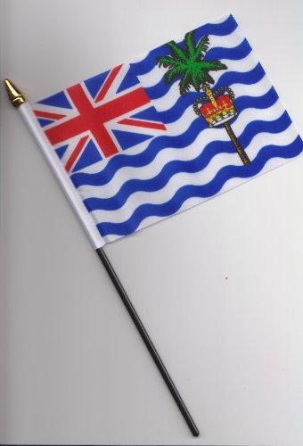British Indian Ocean Territory Hand Flag 25cm