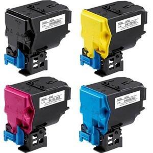 Konica-Minolta Compatible Konica Magicolor 4750 Toner Cartridge Combo Pack (BK/C/M/Y) (A0X5MP) - Spot Combo Pack