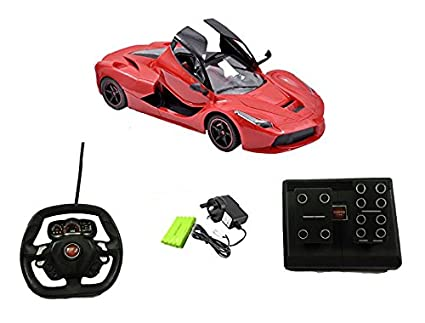 3190747ed Buy Toyshine 1 18 Remote Control Ferrari Car Online at Low Prices in India  - Amazon.in