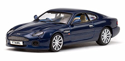 amazon com aston martin db7 vantage blue sun star 20652 1 43
