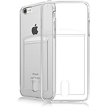 quality design fc16e 79a68 iPhone 7 Case, iPhone 8 case,Fogeek [Slim Fit][Support Wireless Charging]  Protective Soft TPU Anti-Scratch & Shockproof Flexible Bumper Case with  Card ...