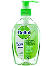 Dettol Instant Liquid Hand Sanitizer Refresh Anti-Bacterial 200ml