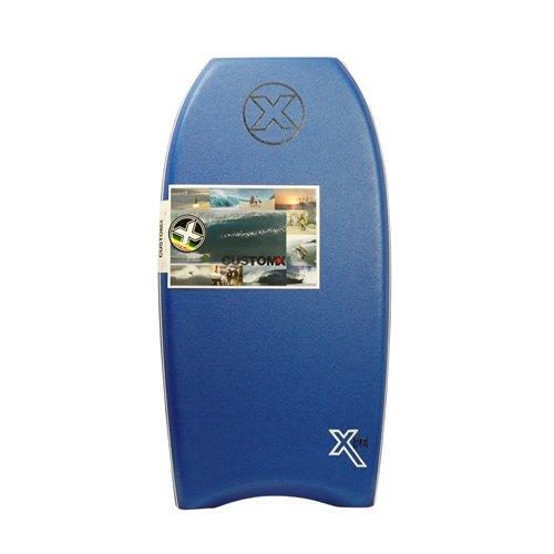 Custom X Titan XPE Crescent Tail Bodyboard (Blue, 43)