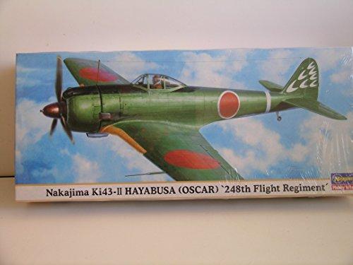 Hasegawa Models---Japanese WW II Nakijima Ki-43 248th Regiment