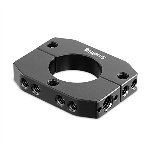 SMALLRIG Mounting Rod Clamp Ring for Zhiyun Crane V2/Crane Plus/Crane M Gimbal with with 1/4