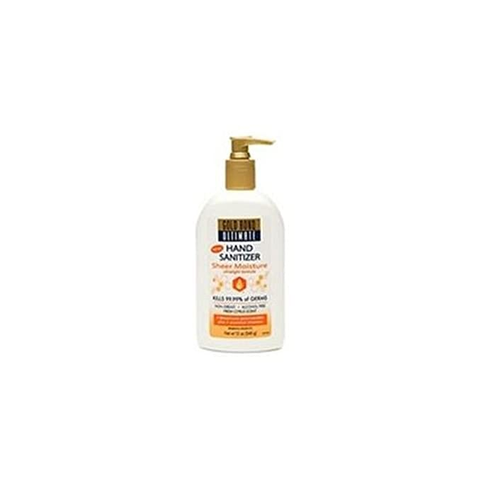 Amazon Com Gold Bond Ultimate Sheer Moisture Hand Sanitizer Beauty