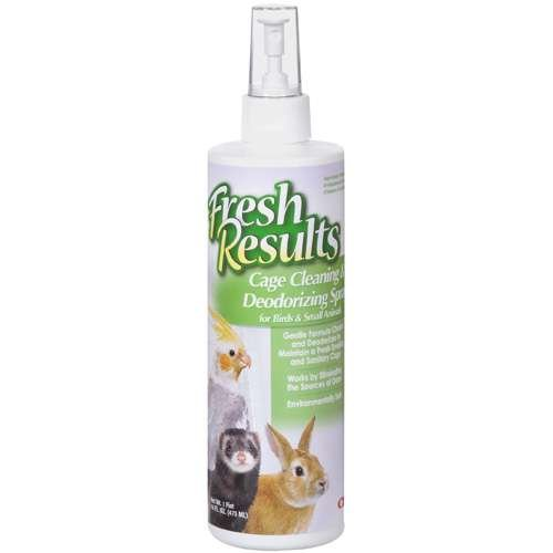 Wild Harvest Cage Cleaning and Deodorizing Spray For Birds and Small Animals, 16 Fl Oz
