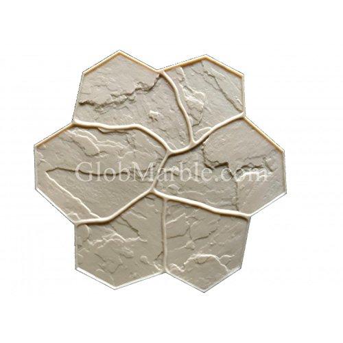 Concrete Stamp Mats. Random Stones Stamped concrete SM 1903/4 Flexible.