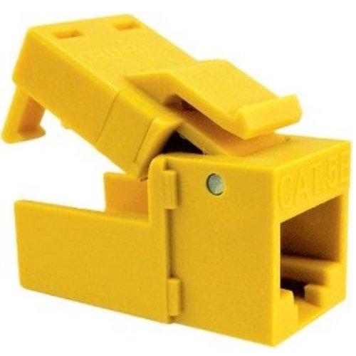 Yellow Platinum Tools EZ-SnapJack Cat5e 705YL-40 40 pc//Installer Pack