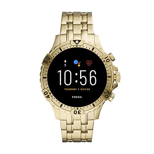 Fossil Gen 5 Smartwatch - Garrett HR Gold-Tone Stainless Steel