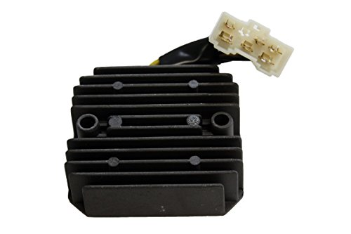 New Voltage Regulator Rectifier For Kawasaki Replaces 21066-1078, SH541E-12, Bayou 400 - Kawasaki Regulator 1995 1997 Rectifier