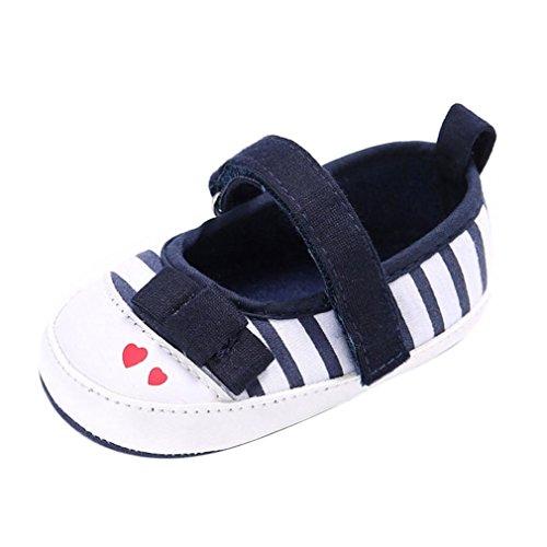 Tefamore Zapatos bebe de bajos de deporte de antideslizante de suave de moda invierno otoño Armada