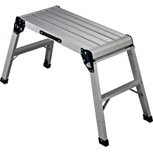 Ironton Folding Aluminum Platform - 225-lb. Capacity