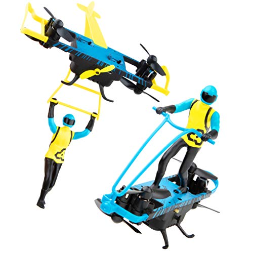 Force1 Stunt Riders Mini Drone for Kids - Remote Control Flying Toys, Indoor Drone w/Action Figure