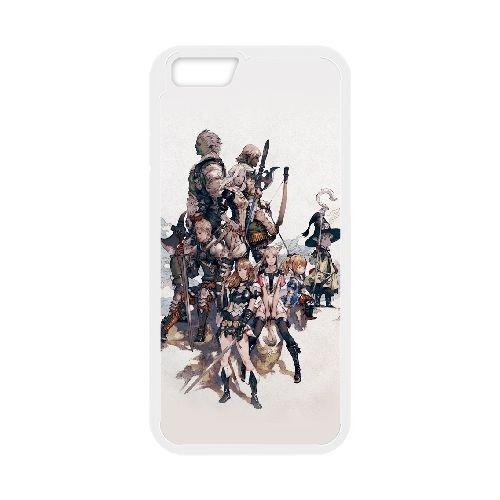 Final Fantasy Xiv 3 coque iPhone 6 4.7 Inch Housse Blanc téléphone portable couverture de cas coque EOKXLLNCD10372