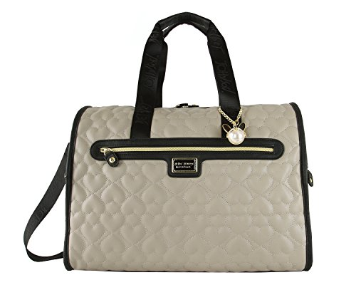 Betsey Johnson Travel Weekender (Taupe)