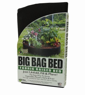 High Caliper Growing 12100RB Big Bag Bed, Black, 50 x 12-In., 100-Gal. - Quantity 12