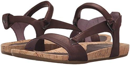Teva Women's Capri Universal Sandal, Pearlized Chocolate