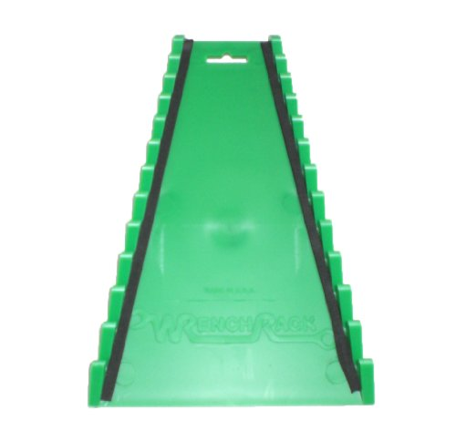 Protoco 2041 Wrench Rack, Reverse Green Magnetic, (Wrench Rack 12 Piece)