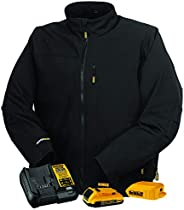 Radians Unisex Heated Soft Shell Jacket Kitted - Black - Size XL, Multicolor, one Size (DCHJ060ABD1-XL)