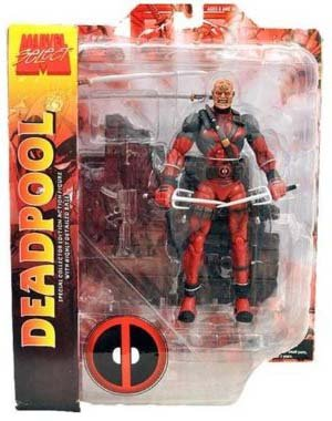 Diamond Toys Marvel Select Action Figure Deadpool Unmaske...