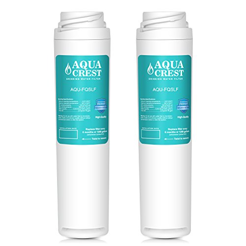 AQUACREST FQSLF Replacement for GE FQSLF Undersink Water Filter Set by AQUACREST