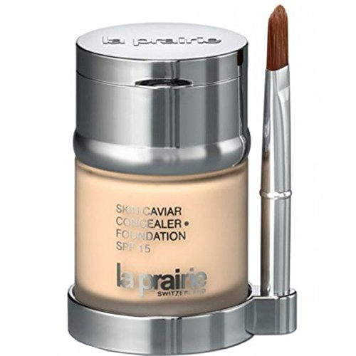 La Prairie Skin Caviar Concealer Foundation SPF 15, Honey Beige, 1 Ounce by La Prairie