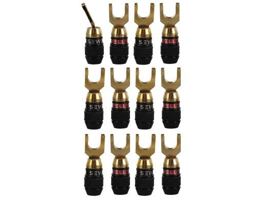 - Sewell Deadbolt 45 Spade Plugs, 6 Pairs