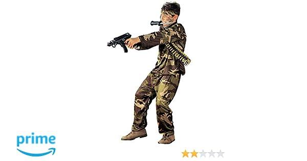 WIDMANN Iden - Disfraz de soldado del ejército militar para ...