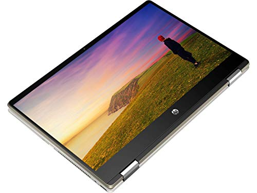 "2020 HP Pavilion x360 2-in-1 Convertible Laptop, 14"" FHD Touchscreen, 10th Gen Intel Core i5-10210U (Beats i7-8550U) 16GB RAM 512GB SSD, Backlit KB Fingerprint Win 10 + ePark Wireless Mouse"
