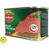 Del Monte Beef Canned Luncheon Meat , 200 gms (Pack of 4)