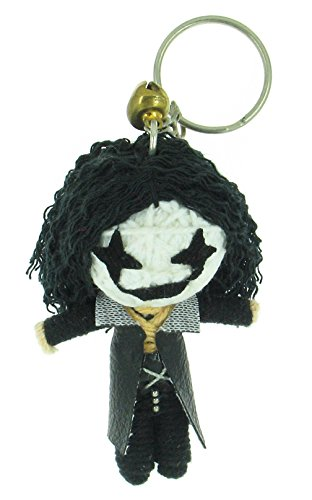 Eric Draven the Crow Voodoo String Doll Keyring (Eric Draven Costume)