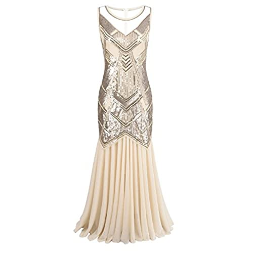 20\'s Style Evening Gown: Amazon.com