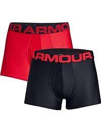 """Under Armour Men's Tech 3"""" Boxerjock Boxer Briefs (2 Pack)"""