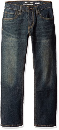 Free Signature by Levi Strauss & C Big Boys' Modern Straight Jeans, Bowie, 10