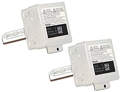 Philips D1S Xenon HID Headlight Bulb Pack of 2 D1S 35W 9285 141 294 OEM Xenon HID