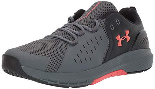 Under Armour Men's Charged Commit 2.0 Running Shoe, Black (003)/Pitch Gray, 9.5