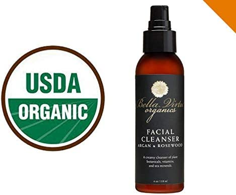 USDA Certified Organic Facial Cleanser