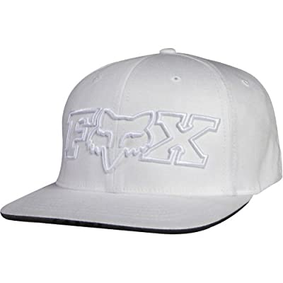 Fox Racing 2 Piece Men's Flexfit Sports Hat/Cap - White by Fox Racing
