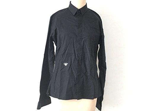 (ディオールオム) DIOR HOMME シャツ 長袖シャツ メンズ 黒 【中古】 B07F81MD7D  -
