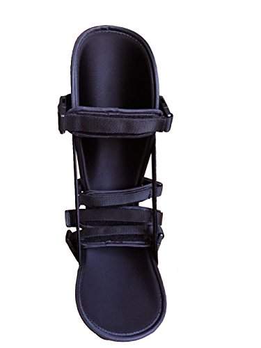 StrictlyStability Plantar Night Boot with 4 Straps, Double Sided Buckles, 2 Stretch Wedges & Massage Ball (Small) by StrictlyStability (Image #4)