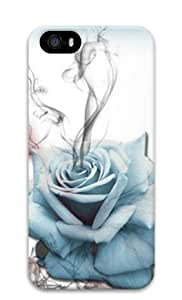 Iphone 5 5s 3D PC Hard Shell Case Flower Beauty Abstract by Sallylotus
