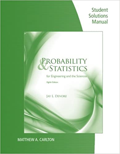 Amazon student solutions manual for devores probability and student solutions manual for devores probability and statistics for engineering and science 8th 8th edition fandeluxe Gallery
