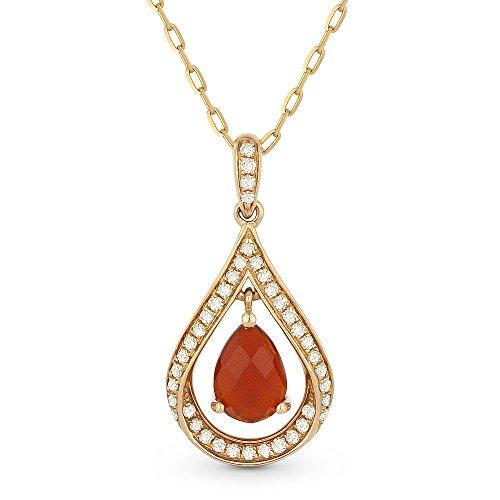 0.57 Ct Pear Diamond - 1