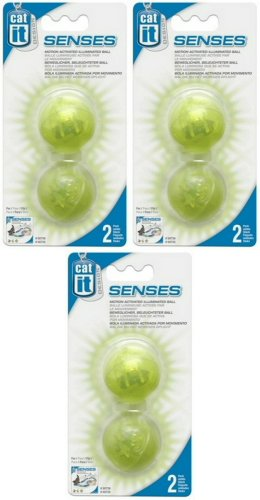 Amazon.com: Catit Design Senses Illuminated Ball - 4-Pack: Kitchen & Dining