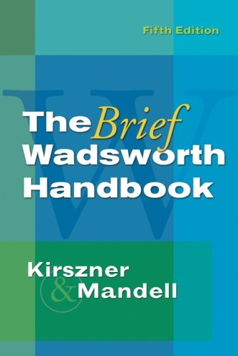 The Brief Wadsworth Handbook (Available Titles CengageNOW)