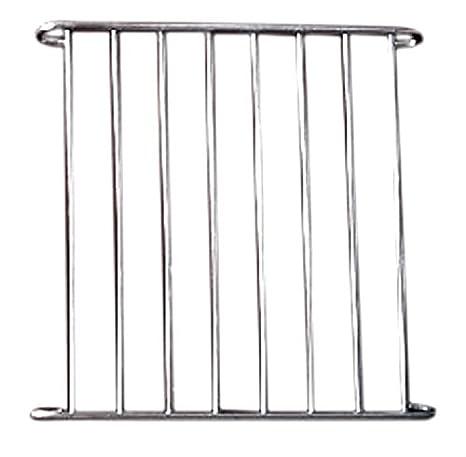 bluemoo 1 pieza Plata externo Jaula puerta de metal de piezas de ...