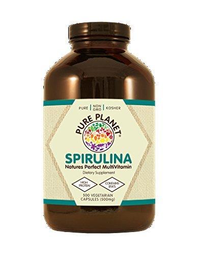Pure Planet Spirulina - 500 mg - 500 Vegetarian ()
