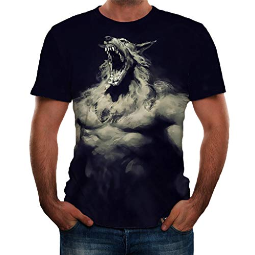 CHENYIHHY Newest 3D Print Lightning Werewolf Fury Cool T-Shirt Men/Women Short Sleeve Summer Tops Tees T Shirt Fashion Japan