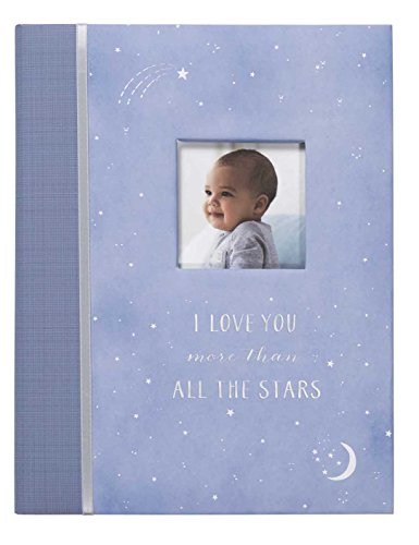 Carter's Periwinkle and Silver Twinkle Twinkle Little Star My First Years Bound Baby Memory Book, 9
